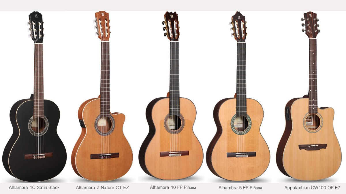 New Alhambra Guitar Models Guitar From Spain
