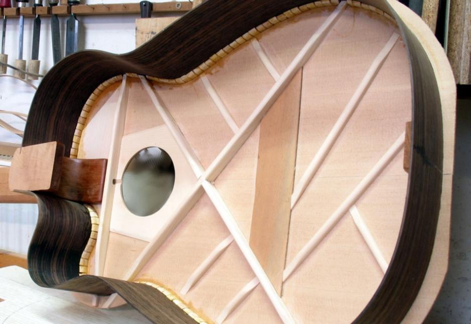 Spanish Heel Guitar From Spain