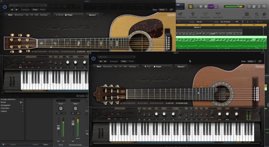 Spanish Guitar MIDI system